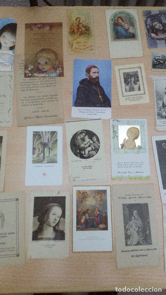 Postales: Lote 34 estampitas y recordatorios - Foto 2 - 101772403