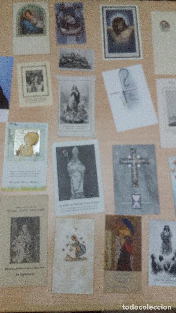 Postales: Lote 34 estampitas y recordatorios - Foto 3 - 101772403