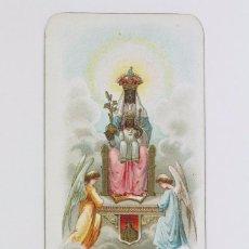 Postales: ESTAMPA RELIGIOSA - LITOGRAFIADA - NTRA. SRA. DE MONTSERRAT - PRINCIPIOS DEL SIGLO XX. Lote 102596507