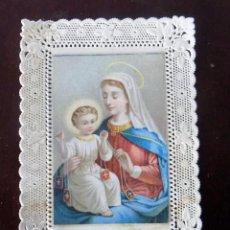 Postales: ESTAMPA RELIGIOSA. PUNTILLA. RECORDATORIO. . Lote 103282427