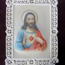 Postales: ESTAMPA RELIGIOSA. RECORDATORIO. CELULOIDE. Lote 103282563