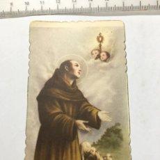 Postales: ESTAMPA RELIGIOSA. S. PASQUALE BAYLON. H. 1950?. Lote 103321680