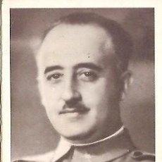 Postales: D E P FRANCISCO FRANCO BAHAMONDE FUNDACION NACIONAL FRANCISCO FRANCO AÑO 1975. Lote 103684527