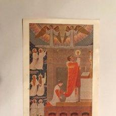 Postales: BENIFARAIG (VCIA.)ESTAMPA/RECORDATORIO 1A MISA SACERDOTE (A.1954). Lote 103712683
