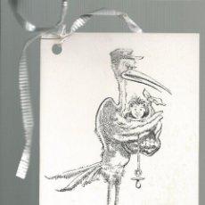 Postales: RECORDATORIO NACIMIENTO 1983 - ILUSTRA RAFEL GARRICH. Lote 103969467