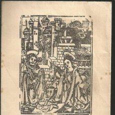 Postales: RECORDATORIO NACIMIENTO - BAUTIZO, AÑO 1968. Lote 104296039
