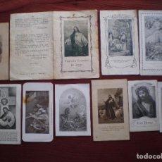 Postales: LOTE 10 ANTIGUAS ESTAMPAS , LAS DE LAS FOTOS. Lote 104301059