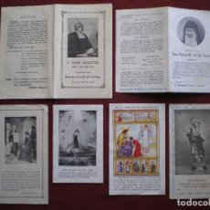 Postales: LOTE 6 ANTIGUAS ESTAMPAS , LAS DE LAS FOTOS. Lote 104302235