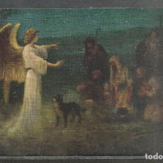 Postales: ANTIGUA TARJETA POSTAL RELIGIOSA - 14 X 9 CM. - CIRCULADA 1913 -. Lote 104315739
