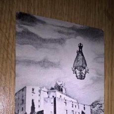 Postales: POSTAL DE LA VIRGEN DE AGRES. Lote 104318119