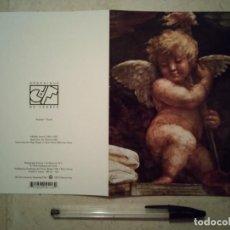 Postales: TARJETA ORIGINAL - RAFAEL SANZIO - RELIGION - AÑO 1995 - ANGEL. Lote 104331979