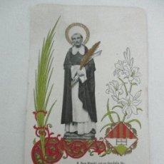Cartes Postales: ESTAMPA RELIGIOSA - BEAT PERE ALMATÓ, FILL DE SANT FELIU SASSERRA - IMPRENTA J. HORTA. Lote 104665531