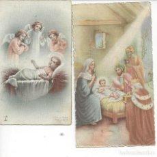 Postales: 2 ESTAMPAS RELIGIOSAS. Lote 104716383