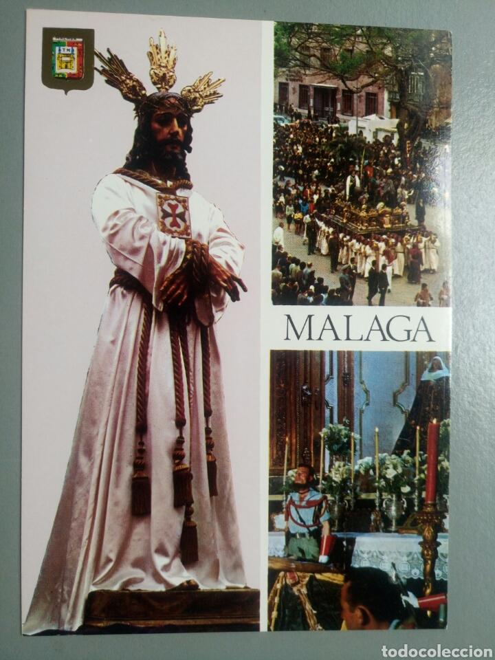 POSTAL NUESTRO PADRE SEÑOR CAUTIVO MALAGA SEMANA SANTA (Postales - Postales Temáticas - Religiosas y Recordatorios)