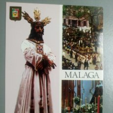Postales: POSTAL NUESTRO PADRE SEÑOR CAUTIVO MALAGA SEMANA SANTA. Lote 105768687