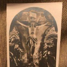 Postales: ANTIGUA POSTAL SANTO CRISTO AGONÍA DE LIMPIAS SANTANDER FOTO AMPUERO. Lote 105851767