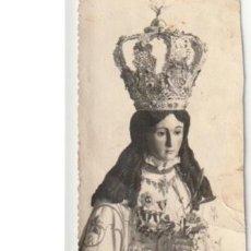 Postales: FOTOGRAFIA DE UNA VIRGEN ESCRITA EN 1946 YECLA MURCIA - C-35. Lote 107790139