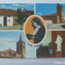 Postales: POSTAL SOR EUSEBIA: CASA NATAL EN CANTALPINO, SALAMANCA Y SU PARROQUIA, VALVERDE DEL CAMINO, HUELVA. Lote 160681476