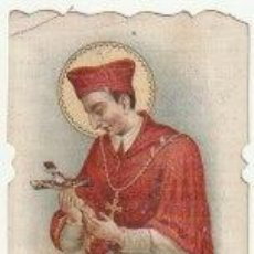Postales: ESTAMPA RECUERDO PRIMERA COMUNION IGLESIA PARROQUIAL DE SAN LORENZO ALBERIQUE VALENCIA 1916 -C-6. Lote 108329799