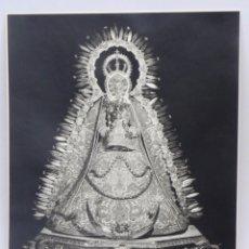 Postales: FOTOGRAFIA DE LA VIRGEN DE GRACIA, PATRONA DE CARMONA (SEVILLA), FOTO HARETON, SEVILLA, GRAN TAMAÑO,. Lote 108788683