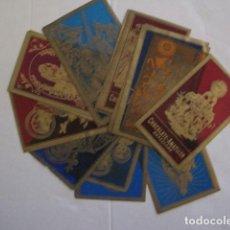 Postales: LOTE 14 ESTAMPAS DE CELULOIDE -SANTOS Y SANTAS -CHOCOLATE AMATLLER -VER FOTOS -(E-931). Lote 109034323