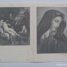 Postales: RECORDATORIO DE SEÑORA FALLECIDA EN MADRID EN 1956. Lote 109160055