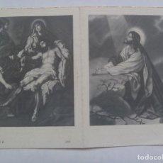 Postales: RECORDATORIO DE SEÑORA FALLECIDA EN MADRID EN 1956. Lote 109290355