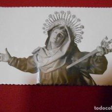 Postales: ANTIGUA POSTAL -VIRGEN DE LOS DOLORES- IGLESIA DE LA VERA CRUZ - VALLADOLID -. Lote 109453467
