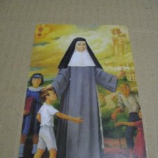 Postales: BEATA MARIA ANA MOGAS (ESTAMPA ) LEER DESCRIPCION. Lote 109582567