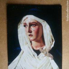 Postales: FOTOGRAFÍA RELIGIOSA VIRGEN DEL AMOR MALAGA / 6 X 9,5 CM. Lote 109818831
