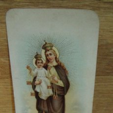 Postales: ESTAMPA RELIGIOSA NTRA SRA DEL CARMEN. Lote 110389927