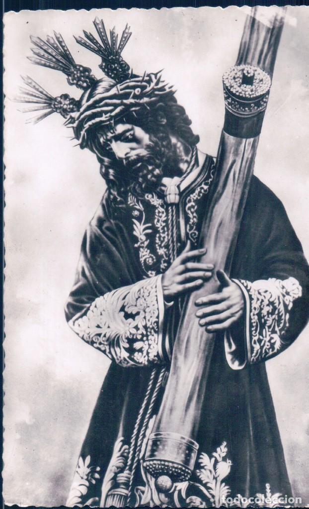 POSTAL ANTIGUA NTRO P JESUS DEL GRAN PODER - SEVILLA - SEMANA SANTA - 111 HELOITIPIA (Postales - Postales Temáticas - Religiosas y Recordatorios)