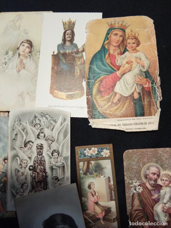 Postales: Lote de 12 estampas religiosas antiguas de color - Foto 2 - 110791327