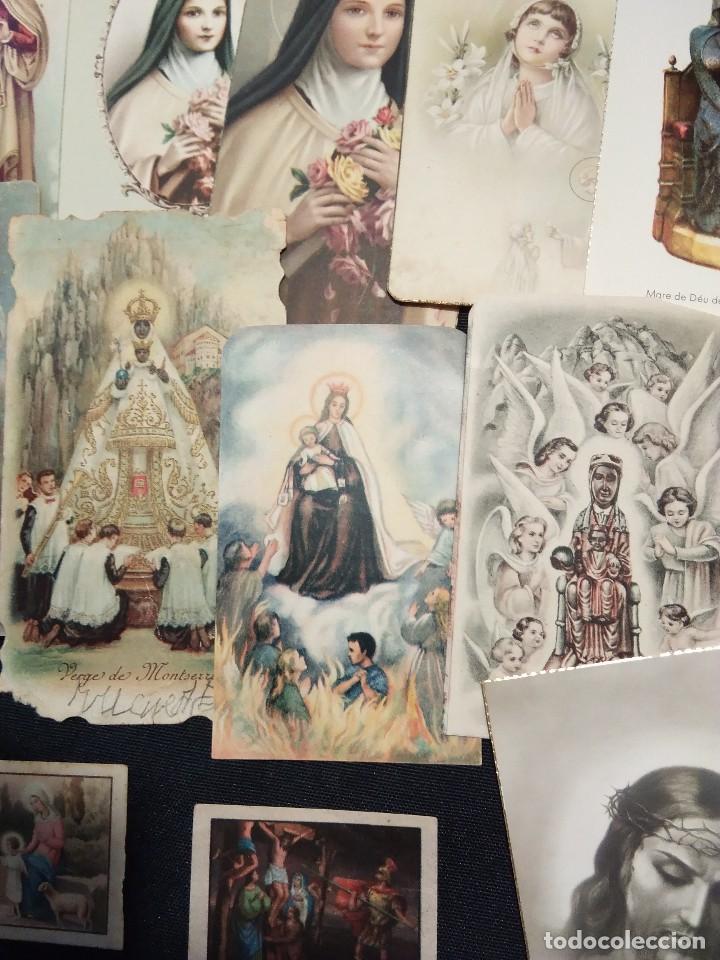 Postales: Lote de 12 estampas religiosas antiguas de color - Foto 3 - 110791327