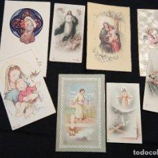 Postales: 8 ESTAMPAS PRIMERA COMUNIÓN. AÑOS 50. Lote 110791943