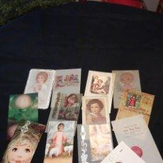 Postales: 12 ESTAMPAS PRIMERA COMUNIÓN. AÑOS 70-80. Lote 110792011