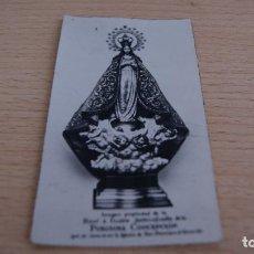 Postales: ANTIGUA ESTAMPA DE LA PURISIMA CONCEPCIÓN. Lote 110792315