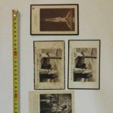 Postales: 5 RECORDATORIOS DE LOS AÑOS 20 DEL S.XX 1920S. Lote 111065995