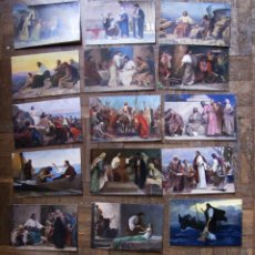 Postales: 21 POSTALES LA SAGRADA ESCRITURA DE ROB LEINWEBER.. Lote 111415719