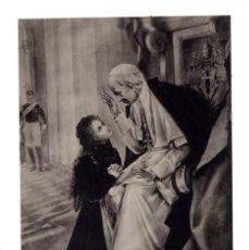 Postales: POSTAL RELIGIOSA - SOR TERESA DEL NIÑO JESÚS A LOS PIES DE LEÓN XIII - FOTOCELERE - CENSURA - TORINO. Lote 111646007
