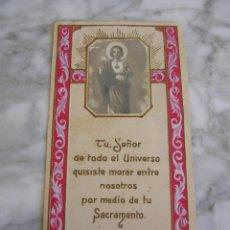 Postales: ESTAMPA RELIGIOSA O RECORDATORIO, ESTILO MODERNISTA. Lote 112027103