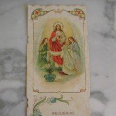 Postales: ESTAMPA RELIGIOSA O RECORDATORIO, ESTILO MODERNISTA. Lote 112034943