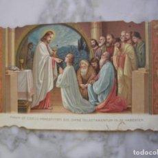 Postales: ESTAMPA RELIGIOSA O RECORDATORIO, ESTILO MODERNISTA. Lote 112036923