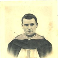 Postales: ESTAMPA DE FRAY DOMINGO DEL SANTISIMO SACRAMENTO MUERTO CON FAMA DE SANTIDAD.. Lote 112384959