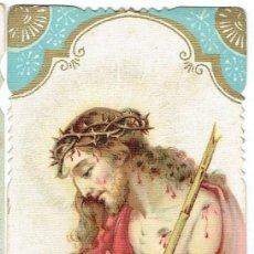Postales: ESTAMPA RELIGIOSA ECCE HOMO !.. Lote 112475823