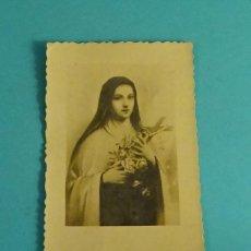 Postales: ESTAMPA LA HERMANA .... RECIBIÓ LOS HÁBITOS EN LAS CARMELITAS DESCALZAS. ARENAS DE SAN PEDRO 1955. Lote 112739507