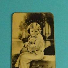 Postales: RECORDATORIO PRIMERA COMUNIÓN. VALENCIA. 23 MAYO 1940. 5,5 X 9,5 CM. Lote 112758971
