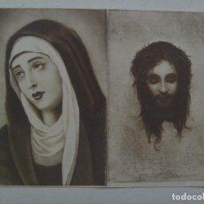 Postales: RECORDATORIO DE SEÑORA FALLECIDA EN MADRID EN 1964. Lote 112777807