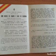 Postales: ESTAMPA POSTAL VIRGEN DE LORETO GUIA Y CONSUELO DEL EJÉRCITO AÉREO DE ESPAÑA. ROGAD A DIOS. Lote 112803123