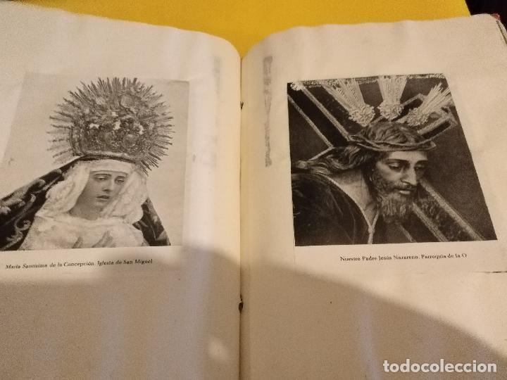 GRAN COLECCION ANTIGUOS +130 RECORTES PRENSA ORIGINALES DE LA SEMANA SANTA DE SEVILLA VIRGEN CRISTO (Postales - Postales Temáticas - Religiosas y Recordatorios)